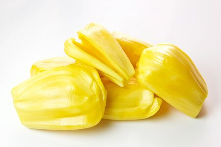 Jackfruit peeled Stock Photo