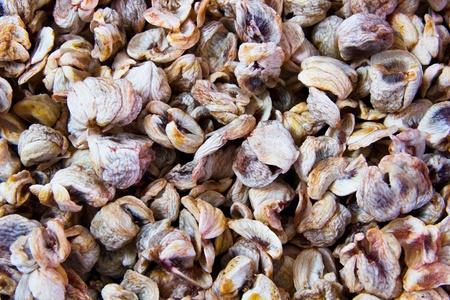 dried mangosteen Stock Photo