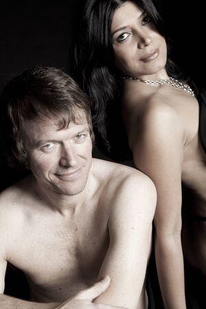 Sensual couple photo