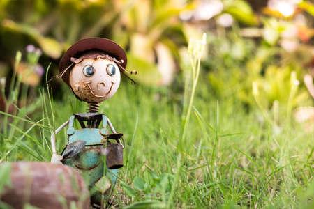 steel doll, adventure in the garden