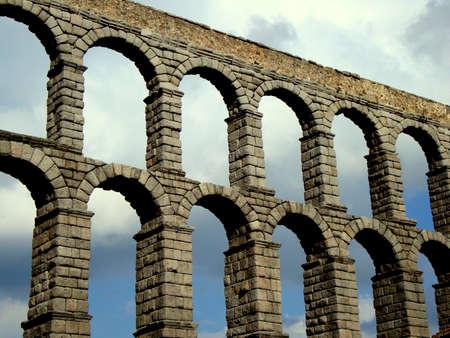 segovia: Roman aqueduct of Segovia
