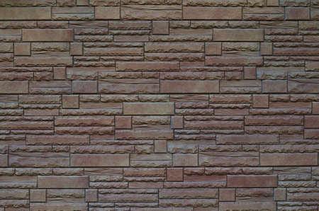 Texture of decorative stone wall background. Stockfoto