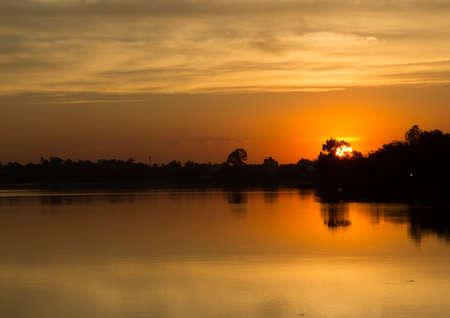 lanscape: Sunset lanscape