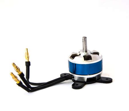 three phase motor: brushless  motor Stock Photo