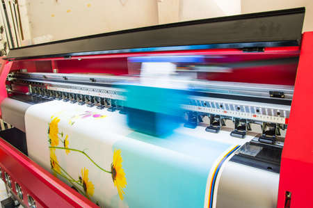 imprenta: impresora del vinilo