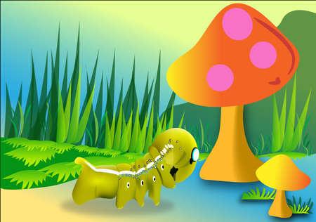 cartoom: nature cartoom Illustration