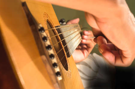 play guitar  photo