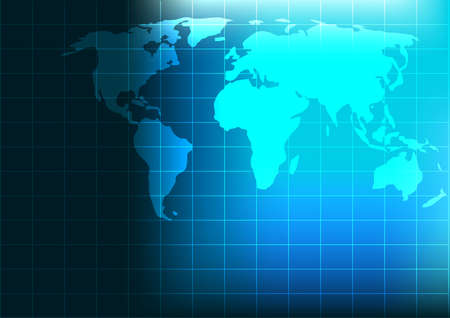 world map background vector photo