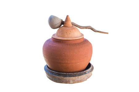 Pottery isolated photo