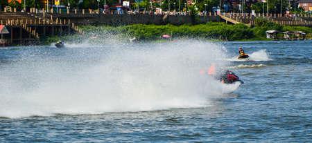 jetski: jetski run on water