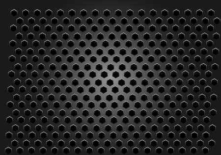 grid: metal grid vector background Illustration