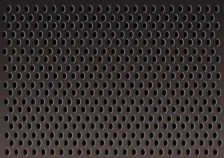 metal grid: metal grid vector background Illustration
