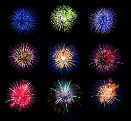 white work: firework