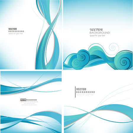 abstract business: abstract business colorful technology background vector set