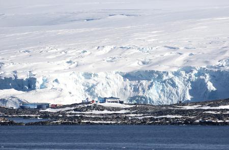 Palmer Station, US Antarctic research station.  Antarctic Peninsula.