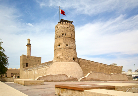 Al Fahidi Fort (1787) Dubai, UAE. City's oldest Building.