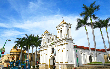 Tapachula, is a city and municipality located in the far southwest of the state of Chiapas in Mexico, near the Guatemala border 版權商用圖片