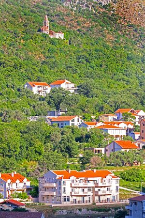 Kotor, a coastal City in the Gulf of Kotor in Montenegro.