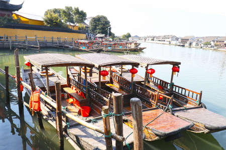 Zhujiajiao Ancient Town,  is an ancient water village also known as the
