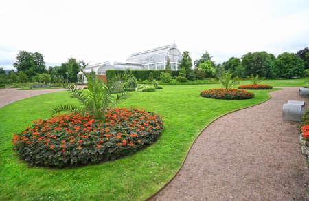 Gothenburg, Sweden. Botanical Garden (Tradgardsforeningen) in Sweden. It is one of largest botanical gardens in Europe with area of 175 hectares