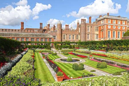 Hampton Court palace and gardens, London, England, United Kingdom