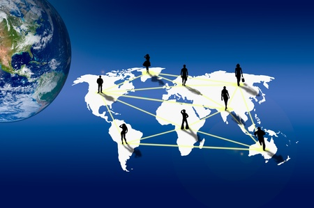 social gathering: Connection with social network