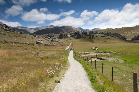 christchurch: Castle Hill mountainscape, New Zealand