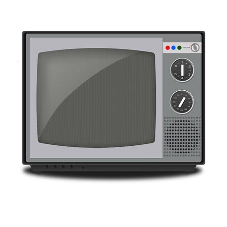 Illustration of retro Television  illustration