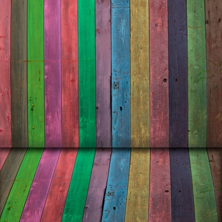 wooden color: Multi Color wooden wall