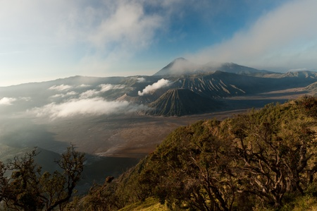 Gunung Bromo volcano, East Java, Indonesia photo
