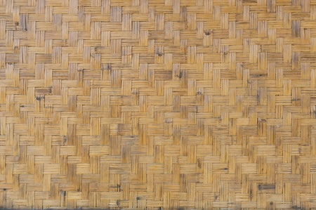 Weave bamboo texture photo