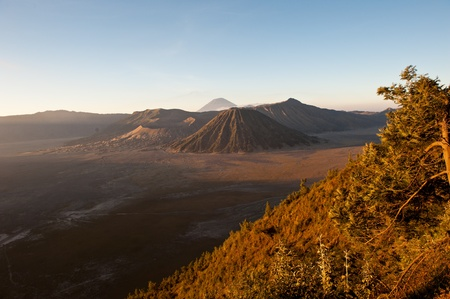 Mt. Bromo volcano, East Java, Indonesia photo