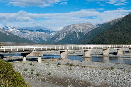 hiway: Arthur pass, New Zealand Stock Photo