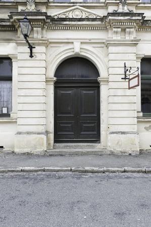 Abandon buildind with door Stock Photo - 13750746