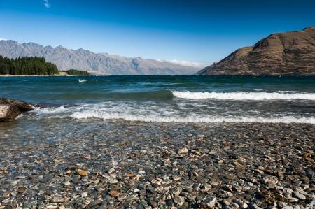 wakatipu: Beautiful Wakatipu Lake, New Zealand