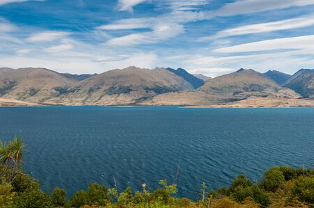 Beautiful Wakatipu Lake, New Zealand Stock Photo - 13861646