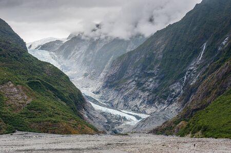 franz: Franz joset glacier, New Zealand