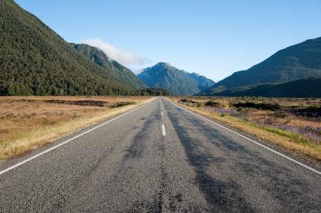 Straight road Stock Photo - 13861729