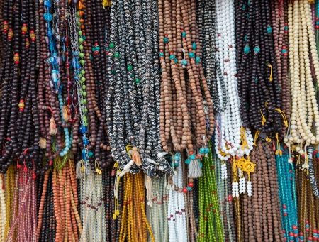 cultural artifacts: Buddism necklace
