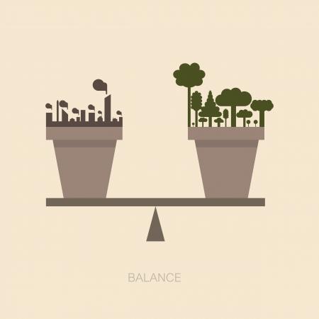 conceito: Escala equil Ilustração