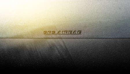 SRS Airbag icône dans la voiture.