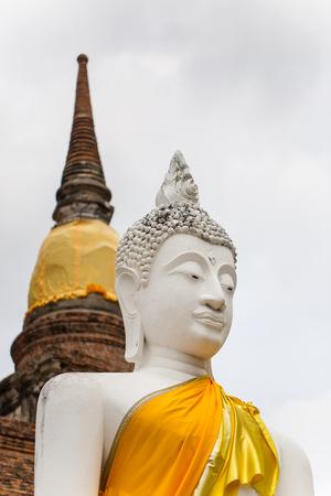 Buddha statues taken at Wat Yai Chaimongkol