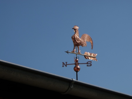 new weathervane made of copper photo
