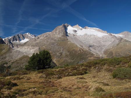 aletsch: Views of the Aletsch area Stock Photo