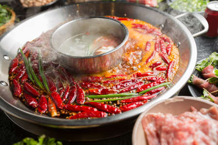Hot pot ingredients