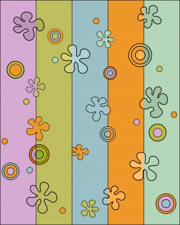 Wallpaper from the sixties  television