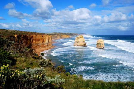 Douze Ap�tres, Great Ocean Road, Victoria, Australie