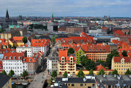 Copenhagen panoramic view Stock Photo - 13498346