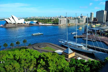 Le port de Sydney Banque d'images