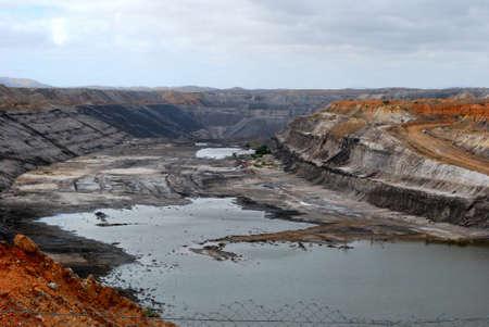 Une mine de charbon �norme en Australie du Sud
